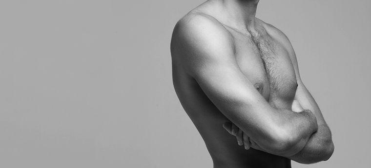 Reducción mamaria en hombre / Ginecomastia