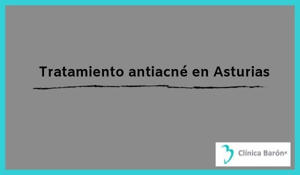 Tratamiento antiacné en Asturias