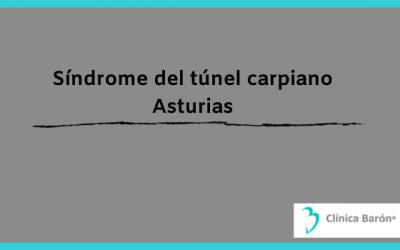 Síndrome del túnel carpiano en Asturias