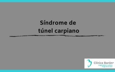 Síndrome del túnel carpiano Asturias